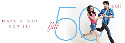 Get FLAT 50% OFF on Fashionara
