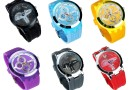 Buy HeiQi Vibrant Chrono Look Analog Watch – 6 Color Options @ Rs. 275