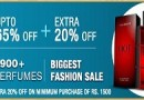 Get Extra 20% OFF on Perfumes