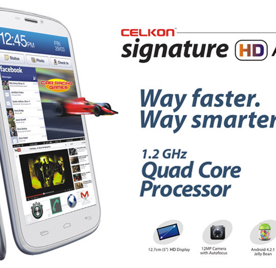 Buy Celkon A119Q Signature HD @ Rs. 10999
