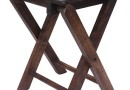 Buy Home Sparkle Mango Wood Folding Stool-Cum-Table-Sh341 @ Rs. 1019