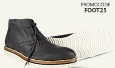 Get Extra 25% OFF on Men's Footwear