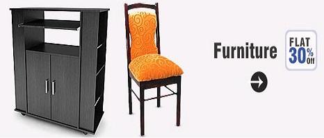 Get FLAT 30% OFF Furniture