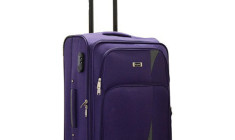 Buy Rhysetta Arrow Purple 20 Cabin Luggage @ Rs. 2200
