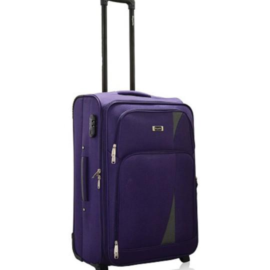 Buy Rhysetta Arrow Purple 20 Cabin Luggage @ Rs. 2200