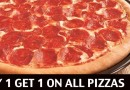 Buy 1 get 1 offer at Pizza Hut